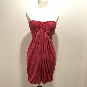 BCBG Maxazria Pink Strapless Dress, Size Medium